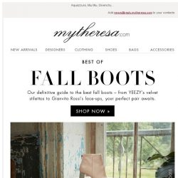 [mytheresa] The best boots to buy now