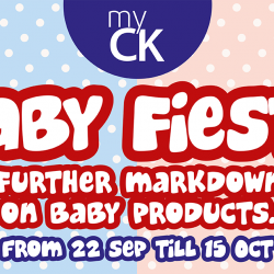 myCK: Baby Fiesta with Many Amazing Offers on Baby Products!