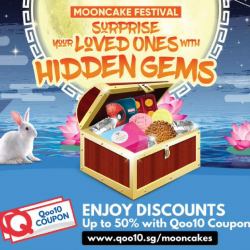 Qoo10: Mooncake Festival with Up to 50% OFF Durian, Snowskin, Traditional & Other Exotic Flavour Mooncakes!