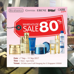 Bio-essence: Warehouse Sale with Up to 80% OFF Bio-essence, Ginvera & Ebene Products