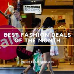 Singapore's Best Fashion Deals of the Month (Nov 2017)