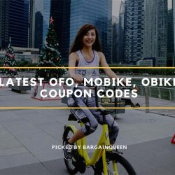 Latest Coupon Codes from ofo, Mobike & Obike (Sept 2017)