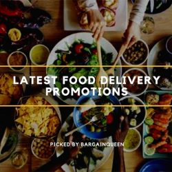 Singapore's Best Food Delivery Deals of the Month (Sept 2017)