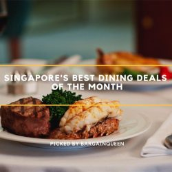 Singapore's Best Dining Deals of the Month (Mar 2019)