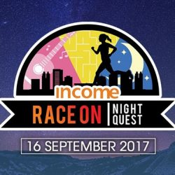 [NTUC Income Insurance] Income's annual Race On is back, this time as a Night Quest and with an after-party to boot!