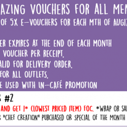 [Simply Wrapps] Oct's 5x Amazing Voucher 2!