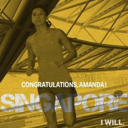 [Under Armour Singapore] Congratulations to UnderArmourSG swimmer Amanda Lim, for winning Gold in both the 50m Freestyle Sprint and 4x100m Freestyle Relay in