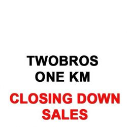 [TwoBros Lifestyle & Gadget Store] We are closing our OneKM outlet.