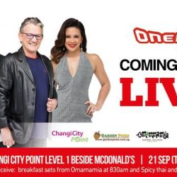 [Changi City Point] Catch ONE FM live at our Level 1 Open Plaza, kicking off with the 1 Breakfast Show with Glenn and