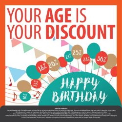 [Manekineko Karaoke Singapore] Celebrate your birthday and get exclusive discount up to maximum 30% determined by your age!