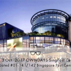 [Owndays Singapore] Coming soon at SingPost Centre.