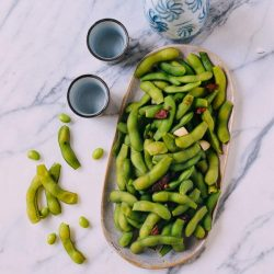 [THE SEAFOOD MARKET PLACE BY SONG FISH] Edamame Beans, Our WayEdamame, often seen in Japanese restaurants.