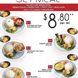 [Orchard Central] Thailicious set meal from Som Tam at $8.