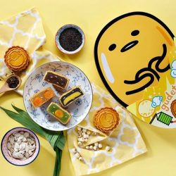 [The Soup Spoon] 1-for-1 Gudetama Mooncakes Promotion | The kawaii lazy egg makes the full moon brighter!