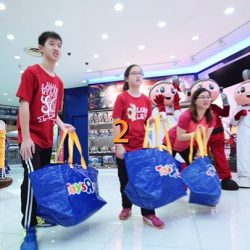 "[OCBC ATM] Here's your last chance to win your own Toys ""R"" Us shopping spree."