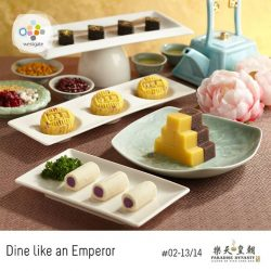 [Westgate Mall] Feast on exquisite Imperial Dim Sum like royalty with Paradise Dynasty's Northern China desserts, and indulge in handmade delectable