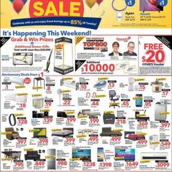 [Courts] COURTS Toa Payoh is extending its Anniversary Sale due to overwhelming responses!
