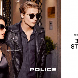 [Trendy Eyes] LAST 3 DAYS to receive a complimentary Limited Edition POLICE Stereo Headphone with your POLICE sunglasses purchase!