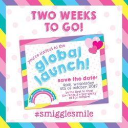 [Smiggle] save the date: 4pm, wednesday 4th of october 2017!