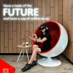 [DBS Bank] Have a taste of the future with a side of coffee when you visit our branch at Plaza Singapura!