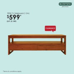 [Scanteak] It's the final weekend of our Seasonal Clearance sale at Toh Guan!