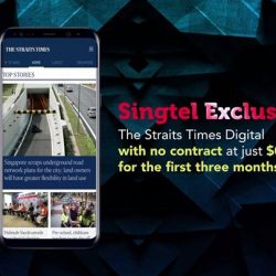 [Singtel] Enjoy data-free reads of The Straits Times at just $0.