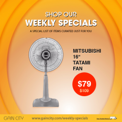 [Gain City] Gain City's weekly online specials are back this week with a new selection of items such as this 16""