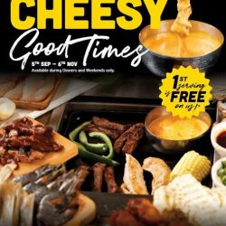 [Seoul Garden Singapore] Cheese lovers, listen up!