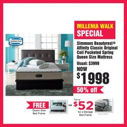 [Harvey Norman] With the biggest range of bedding in the city, you can be sure to get amazing offers on your favourite