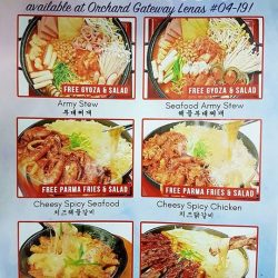 [Lenas ] Did you know that orchardgateway Lenas 04-19 is the only Lenas outlet that has Korean menu in additional to