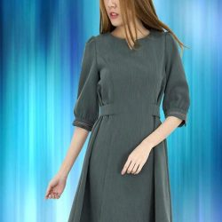 [MOONRIVER] Elle Fit and Fare Sleeves Dress - Selling FastShop online @ www.