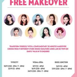 [Etude House Singapore] Fancy a Free Makeover?