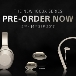 [Porter International] We've always been a huge fan of Sony headphones and is glad to announce a free gift away of