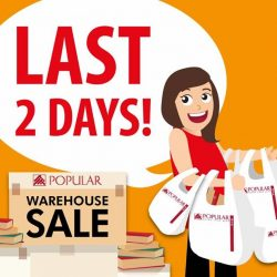 [POPULAR Bookstore] Just 2 more days to the end of the POPULAR Warehouse Sale!