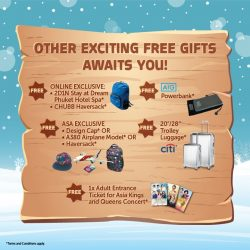 [ASA Holidays] Join us this weekend at Suntec City Mall for some exciting freebies and Exclusive holiday's deals.