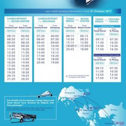 [MAJESTIC FAST FERRY] Dear Valued Customer: In order to serve you better we are adding an additional trip from Tanah Merah Ferry Terminal