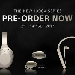 [Stereo] The all new Sony 1000x series.
