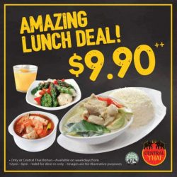 [Central Thai] Get a taste of Thai with our Amazing Lunch Deal!