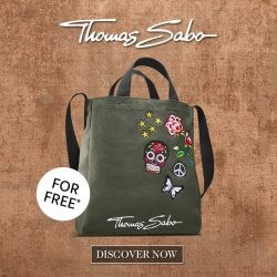 [Thomas Sabo] You can't buy happiness – but you can get our shopping bag for free and that's kind of the