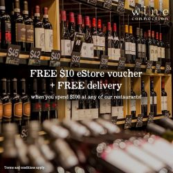 [Wine Connection] Eat, drink and be rewarded.