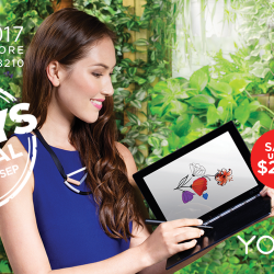 [Lenovo] Whether you're a creative or a movie enthusiast, you can inspire your way with the Yoga Book, Yoga Tab