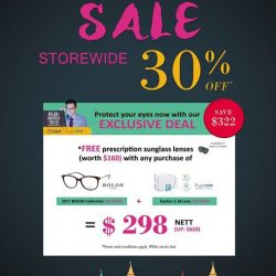 [Eyechamp Flagship] Save $322 on our DeepaRaya Exclusive deal and enjoy FREE prescription sunglass lenses (worth $160).