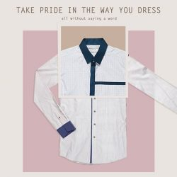 [CYC The Custom Shop] There is the stigma among men that caring about what you wear is feminine and not masculine, which makes the