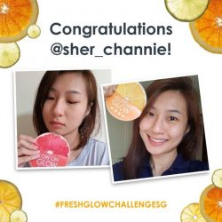 [Fresh] Congratulations to our 2nd weekly FreshGlowChallengeSG winners, @asherlaumummy, @nnicolettetan, and @sher_channie, for inspiring us with your journey to glow!