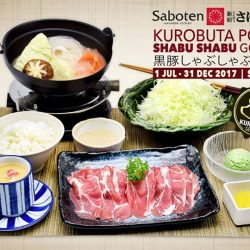 [Saboten] Enjoy the sweetness of this premium meat renowned for its rich flavour and tenderness.