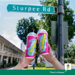 [7-Eleven Singapore] Get 2 Giant Slurpees for the price of 1!