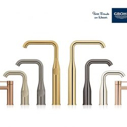 [GROHE SPA] INSPIRED BY WORLDWIDE COLOUR TRENDS GROHE new Essence range offers 10 colour finishes that are inspired by worldwide colour trends.