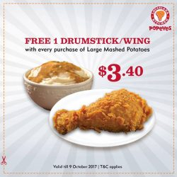 [Popeyes Louisiana Kitchen Singapore] Spreading a little love to our Popeyes Fans!