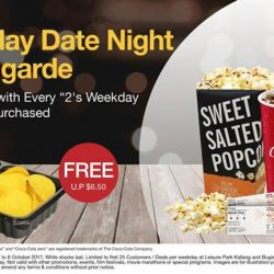 [Filmgarde Cineplex] How about a weekday date night?