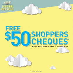 [Metro] Save as you shop, and shop to save!